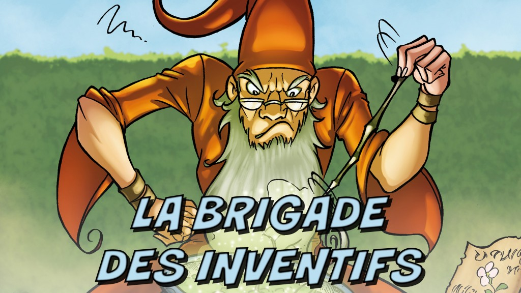La Brigade des Inventifs, titre Ulule