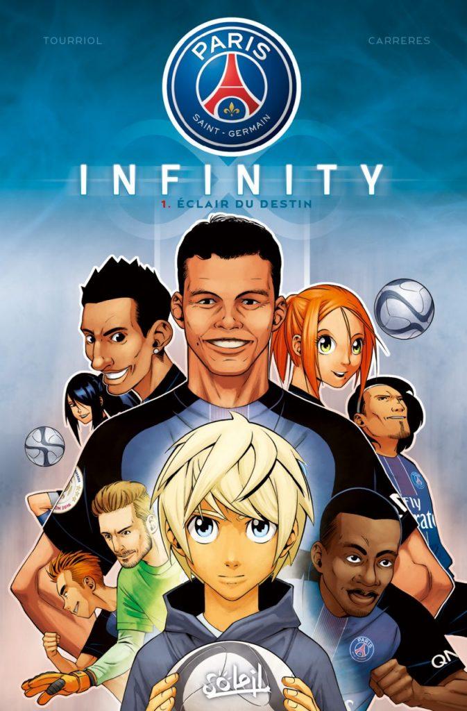PSG Infinity couverture (Dessin : Albert Carreres) - Flibusk